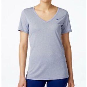 Striped Nike Dri-Fit Tee